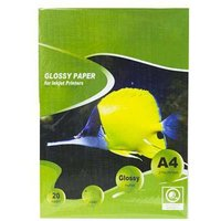Glossy Photo Paper 130g in (A4) - 20 sheets (GP130A4-20)