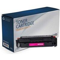 Compatible Magenta HP 415A Standard Capacity Toner Cartridge (Replaces HP W2033A)
