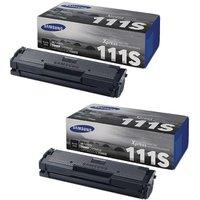 'Original Multipack Samsung Xpress Sl-m2022w Printer Toner Cartridges (2 Pack) -mlt-d111s