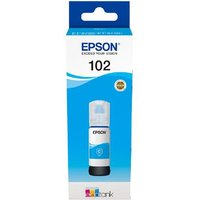 Epson 102 Cyan Original Ecotank Ink Bottle (C13T03R240)