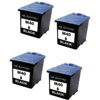 Compatible Multipack Samsung SF-345 Printer Ink Cartridges (4 Pack) -M40