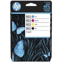 HP 953 Black and Colour Original Standard Capacity Ink Cartridge Multipack (6ZC69AE)