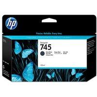 HP 745 Matte Black Original High Capacity Ink Cartridge (F9K05A)