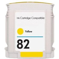 HP 82 Yellow Remanufactured High Capacity Ink Cartridge (69ml)