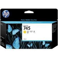 HP 745 Yellow Original High Capacity Ink Cartridge (F9K02A)