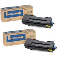 TWIN PACK : Kyocera TK-7300K Black Original Toner Cartridge
