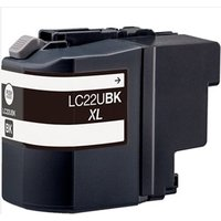 Brother LC22UBK Black Compatible Ink Cartridge