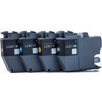Brother LC3211 BK/C/M/Y Compatible Standard Capacity Ink Cartridge Multipack