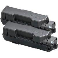Twin Pack : Kyocera TK-1150 Black Remanufactured Toner Cartridge