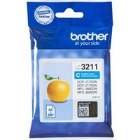 Brother LC3211C Cyan Original Standard Capacity Ink Cartridge