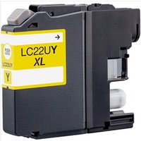 Brother LC22UY Yellow Compatible Ink Cartridge