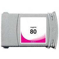 HP 80 Magenta Remanufactured High Capacity Inkjet Cartridge