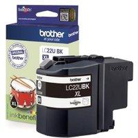 Brother LC22UBK Black Original Ink Cartridge