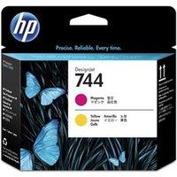 HP 744 Magenta and Yellow Original Printhead (F9J87A)
