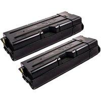 TWIN PACK : Kyocera TK-6705 (Remanufactured) Black Toner Cartridge