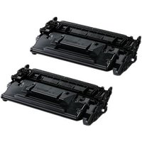 TWIN PACK: Canon 052 (2199C002) Black Remanufactured Standard Capacity Toner Cartridge