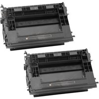 TWIN PACK: HP 37Y (CF237Y) Black Remanufactured Extra High Capacity Toner Cartridge