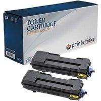 TWIN PACK : Kyocera TK-7300K Black Remanufactured Toner Cartridge