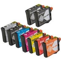 2 x Photo Black Epson T1591 and 1 x Colour Set Epson T1590/T1599 Remanufactured Ink Cartridges