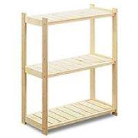 Lagerregal 'Store' aus Holz, 3 Lagerböden, erweiterbar bis zu 7 Böden