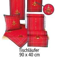 Tischläufer 'Weihnachtsbaum' 90x40