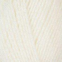 Robin Double Knit Yarn White 100g