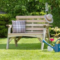 Abbey 2 Seater Garden Bench