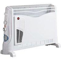 Daewoo Convector 2000 Watt Radiator Heater With Timer & Thermostat