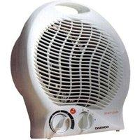 Daewoo Upright 2000 Watt Fan Heater With Thermostat Control