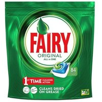 84 All In 1 Fairy Dishwasher Capsules