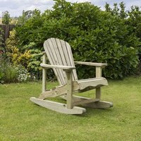 Lily Garden Rocking Chair