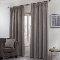 'Hamilton Mcbride Honeycomb Curtains Grey 46 X 72cm