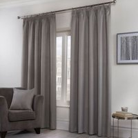 'Hamilton Mcbride Honeycomb Curtains Grey 66 X 90cm