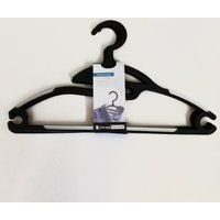 Clothes Hanger 4 Piece Set - Black