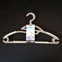 Clothes Hanger 4 Piece Set - Brown