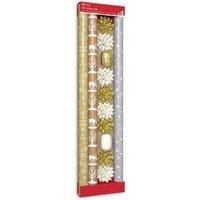 Gold & Cream Composite Christmas Wrap