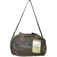 'Compass Luggage  Holdall Brown & Green