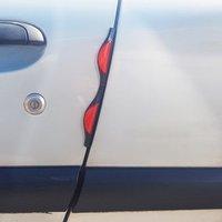 Car Door Guard Pair Red