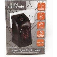 Plug In Heater Digital 400W