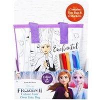 'Disney Frozen 2 Colour Your Own Tote Bag - Anna