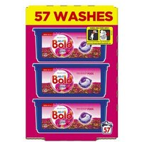 Bold 3 in 1 Washing Capsules Bloom & Poppy 57 Washes