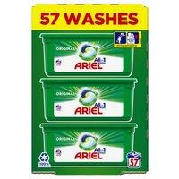 Ariel 3 in 1 Washing Capsules Original 57 Washes