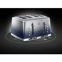 Russell Hobbs Eclipse 4 Slot Toaster - Midnight Blue