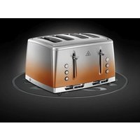 Russell Hobbs Eclipse 4 Slot Toaster - Copper Sunset