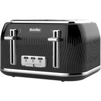 Breville Flow 4 Slice Toaster - Black