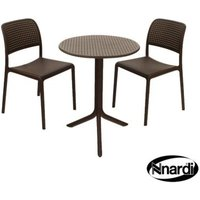 Step Garden Bistro Set (supplied with 2 Coffee Bistro Chairs)