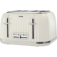 Buy Breville Impressions 4 Slice Toaster Cream - QD stores