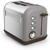 Buy Morphy Richards Accents 2 slice Toaster - Pebble - QD stores