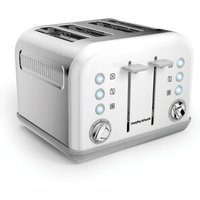 Buy Morphy Richards Accents 4 Slice Toaster - White - QD stores