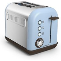 Buy Morphy Richards Accents 2 Slice Toaster - Azure - QD stores